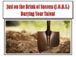 Burying your Talent ebook photo
